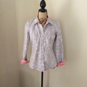 Boden Tops - Boden size 4 button down blouse cotton